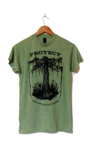 SAVE THE SWAMP tee