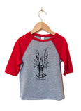 CRAWFISH Kids Raglan- YOUTH 5/6