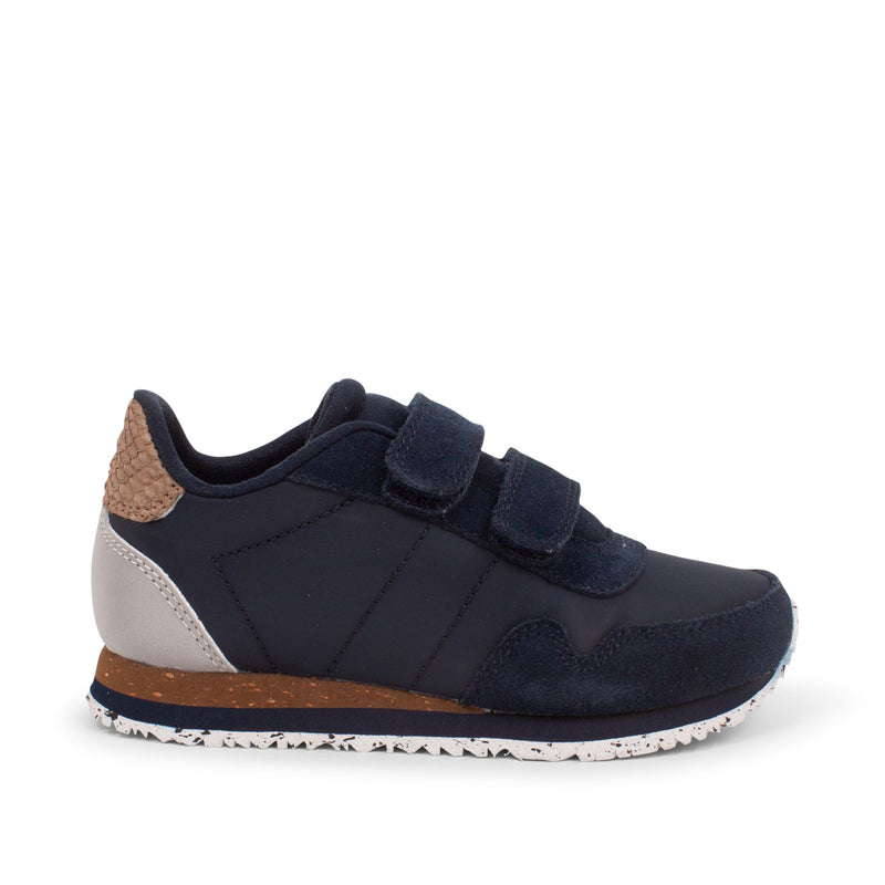 WODEN KIDS Nor Suede Sneakers 010 Navy