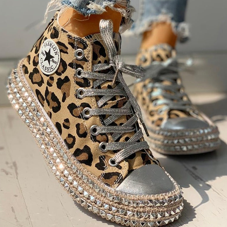 Mimi's Embellished Sneakers