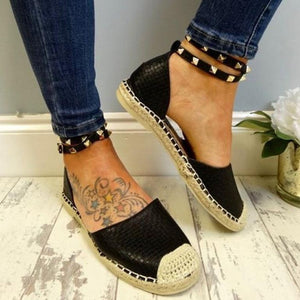 Milla's Studded Straps Flats