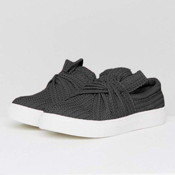 Sharon's Knitted Sneakers