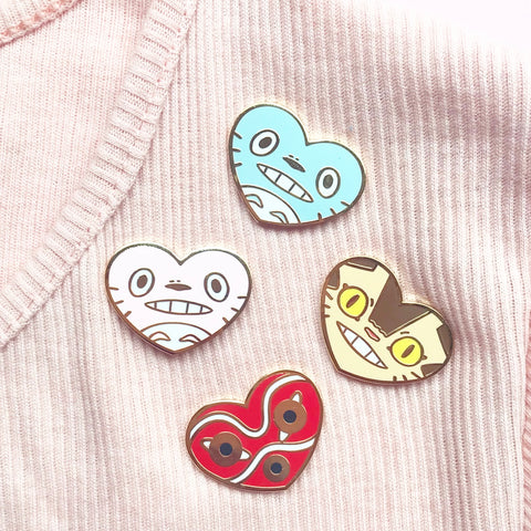 Lovely Ghibli pin bundle