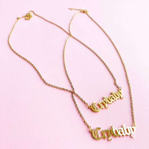 Crybaby necklace  (JW04)