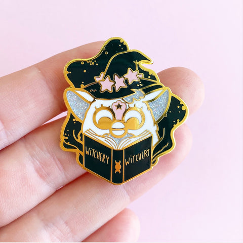 WitchyFurby pin  (NS89)