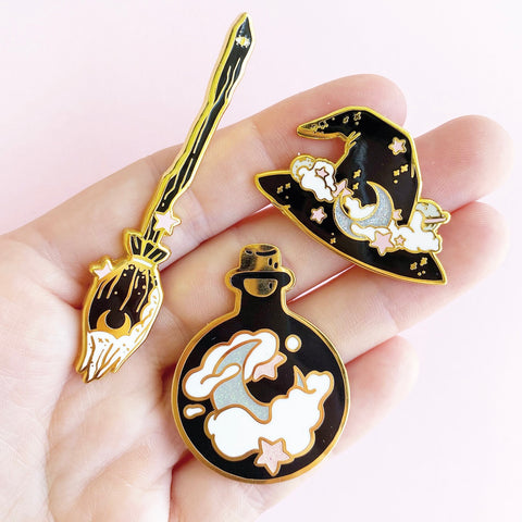 Moon pin bundle