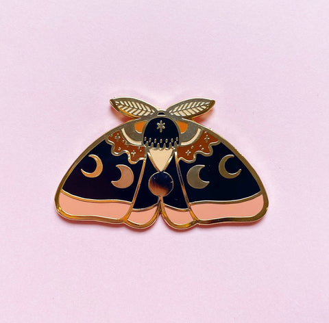 Sunset Moth Pin  - (NS109)