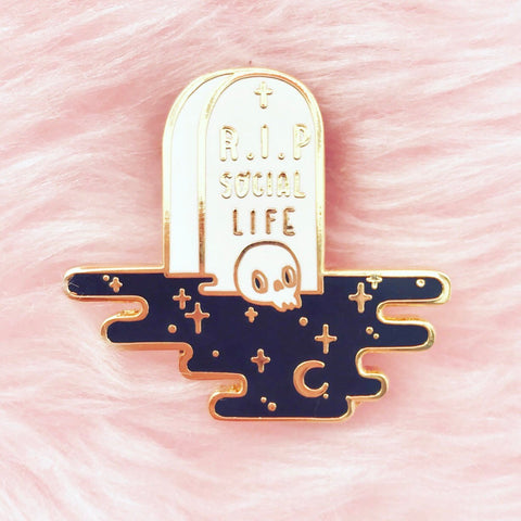 R.I.P SocialLife pin - NS42