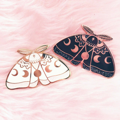 GlitterMoth pin bundle