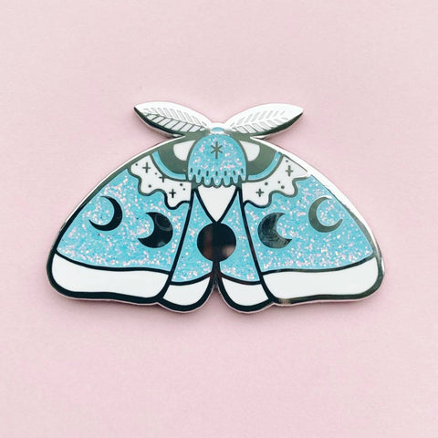 SnowMoth pin  (NS46)
