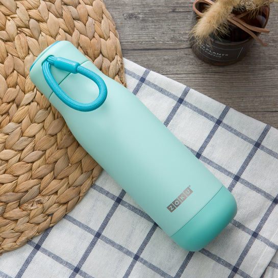 18oz Stainless Steel Powder Coated Bottle - Zoku