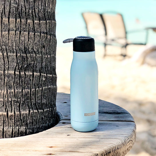 12oz Stainless Steel Bottle - Zoku