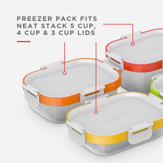 4 Piece Neat Stack Freezer Pack - Zoku