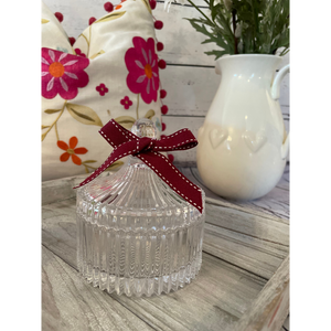 Small Vintage Trinket Jar