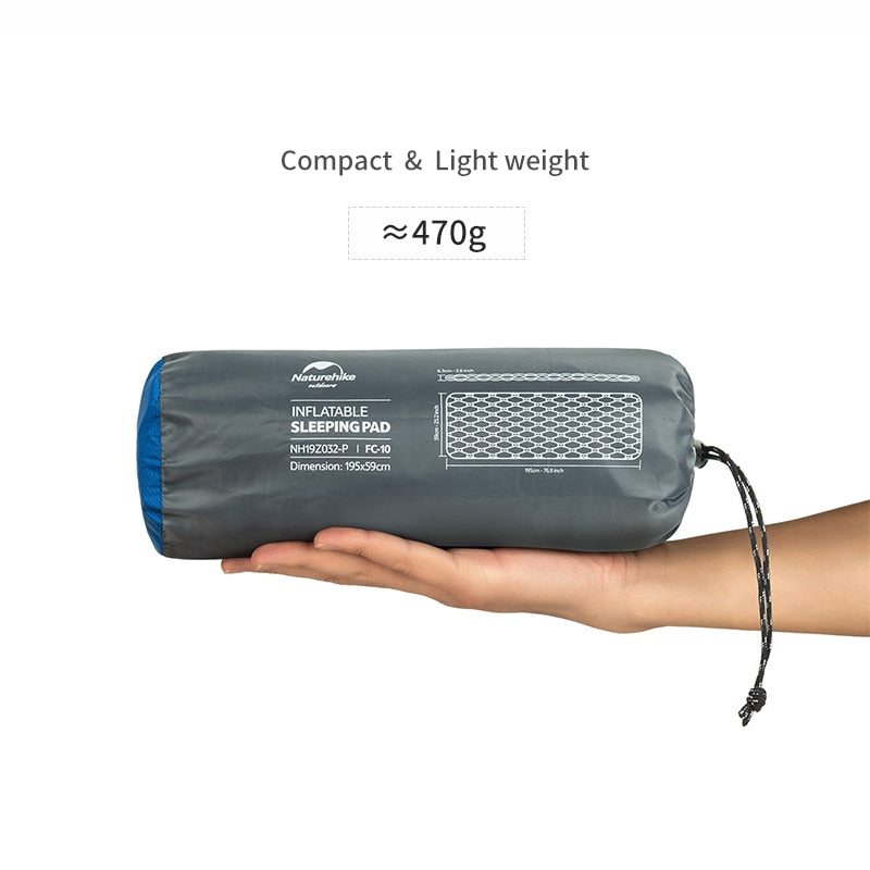 Sleeping Pad With Pillow Air Bag