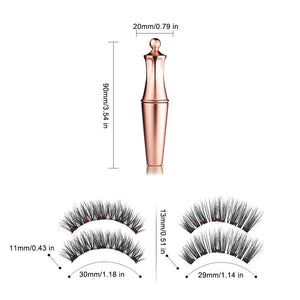 Magnetic Eyelashes + Eyeliner Magnetic Kit
