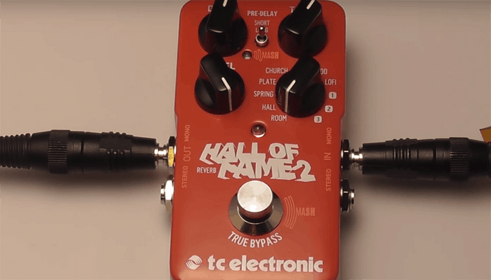 TC Electronic Hall Of Fame 2 Reverb Pedal Review