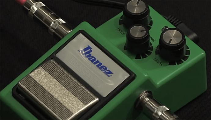 Ibanez TS9 Tube Screamer Overdrive Pedal Review