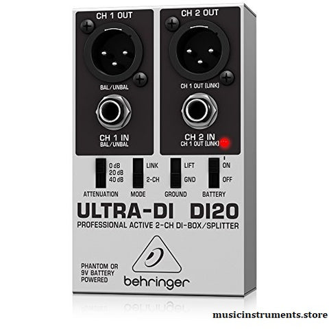 Behringer Ultra-DI DI20 review 2020