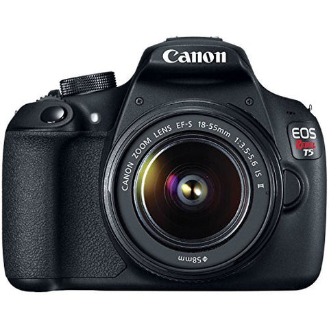 Canon EOS Rebel T5 EF-S 18-55mm IS II Digital SLR Kit review 2020