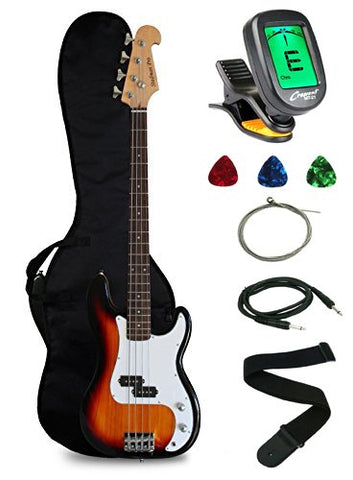 Crescent Electric Bass Guitar Starter review 2020