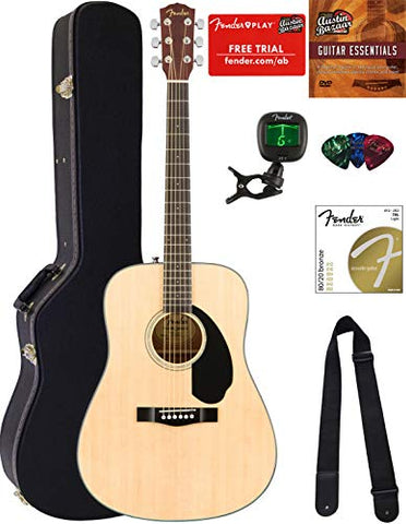 Fender CD-60S Dreadnought review 2020