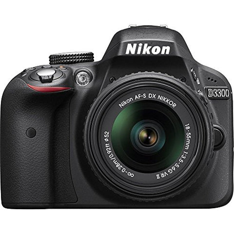 Nikon D3300 24.2 MP CMOS Digital SLR with AF-S DX NIKKOR Zoom Lens review 2020