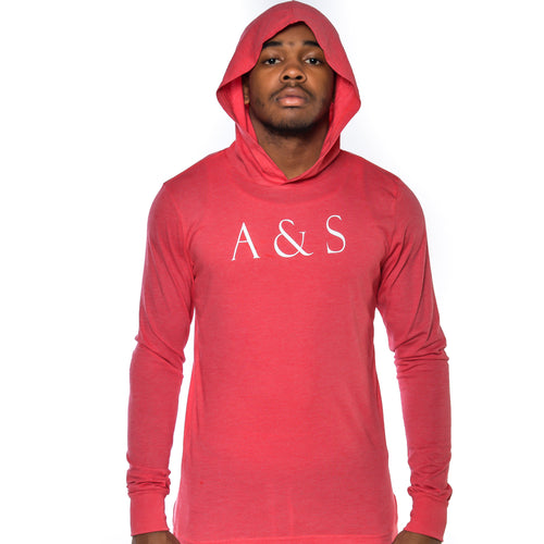 A&S Hooded Long Sleeve
