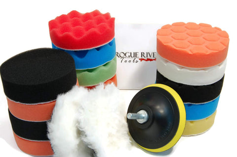 (18pc) 4 Inch Combo Buffing & Polish Set