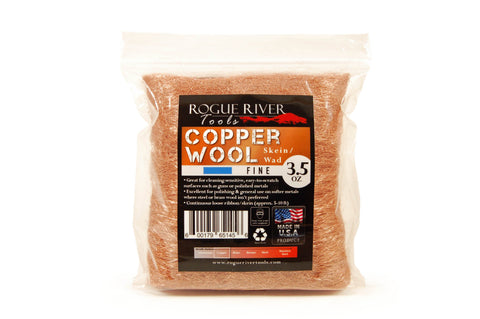 Rogue River Copper Wool Skein - Fine