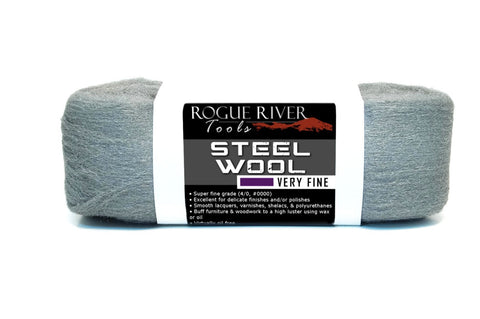 Oil Free Super Fine Steel Wool Skein (Grade 4/0 0000)