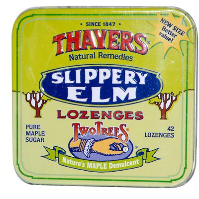 Thayer's Two Trees Maple Slippery Elm LOzenges (10x42 ct)