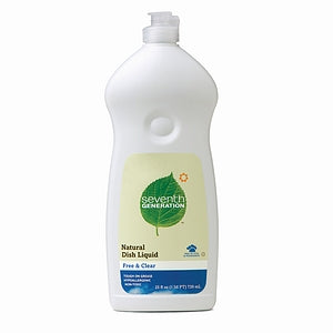Seventh Generation Free & Clear Dish Liquid (12x25 Oz)