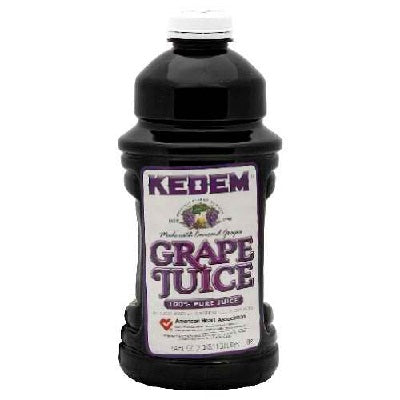Kedem Grape Juice Concord (8x64OZ )