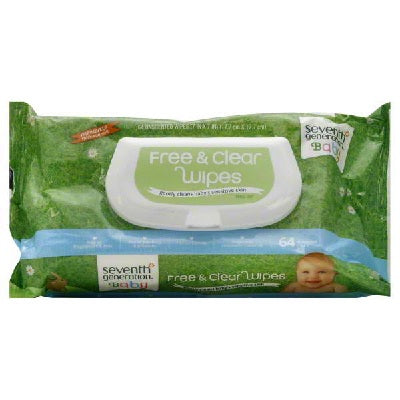 Seventh Generation F&C Baby Wipe Wdgt (12x64CNT )