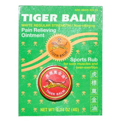 Tiger Balm Regular Strth Wht (1x4GRAM)