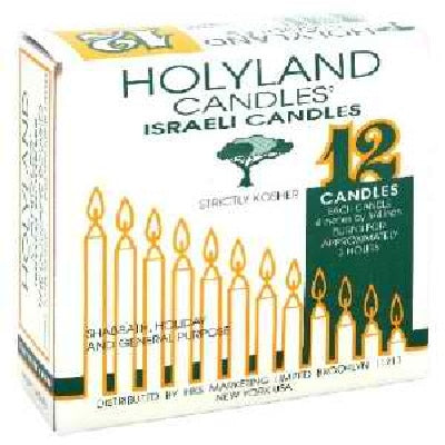 Yehuda Sabbath Candles (24x12EA )