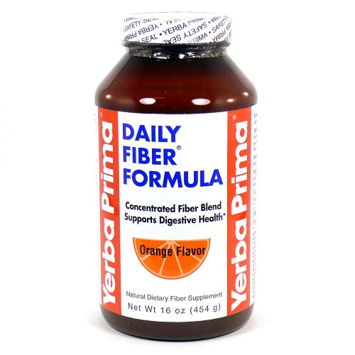Yerba Prima Orange Flavor Daily Fiber Formula (1x12 OZ)