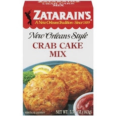 Zatarain's Seafood Cake Mixes, Crab Cake Mix (12x12/5.75 Oz)
