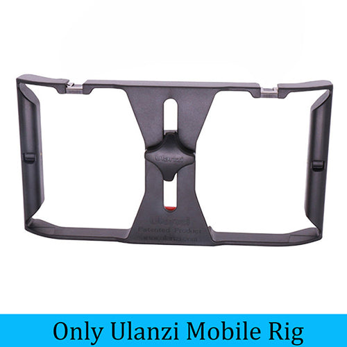 DIGITALFOTO Ulanzi Smartphone Video Handle Rig Filmmaking Mobile Stabilizer  Case with Microphone light for movie youtube live