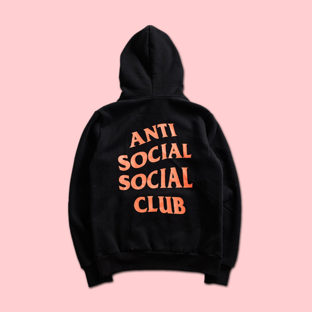 a2dbcbd03c7d ANTI SOCIAL SOCIAL CLUB x UNDEFEATED PARANOID HOODIE BLACK (LIMITED STOCK)  ...