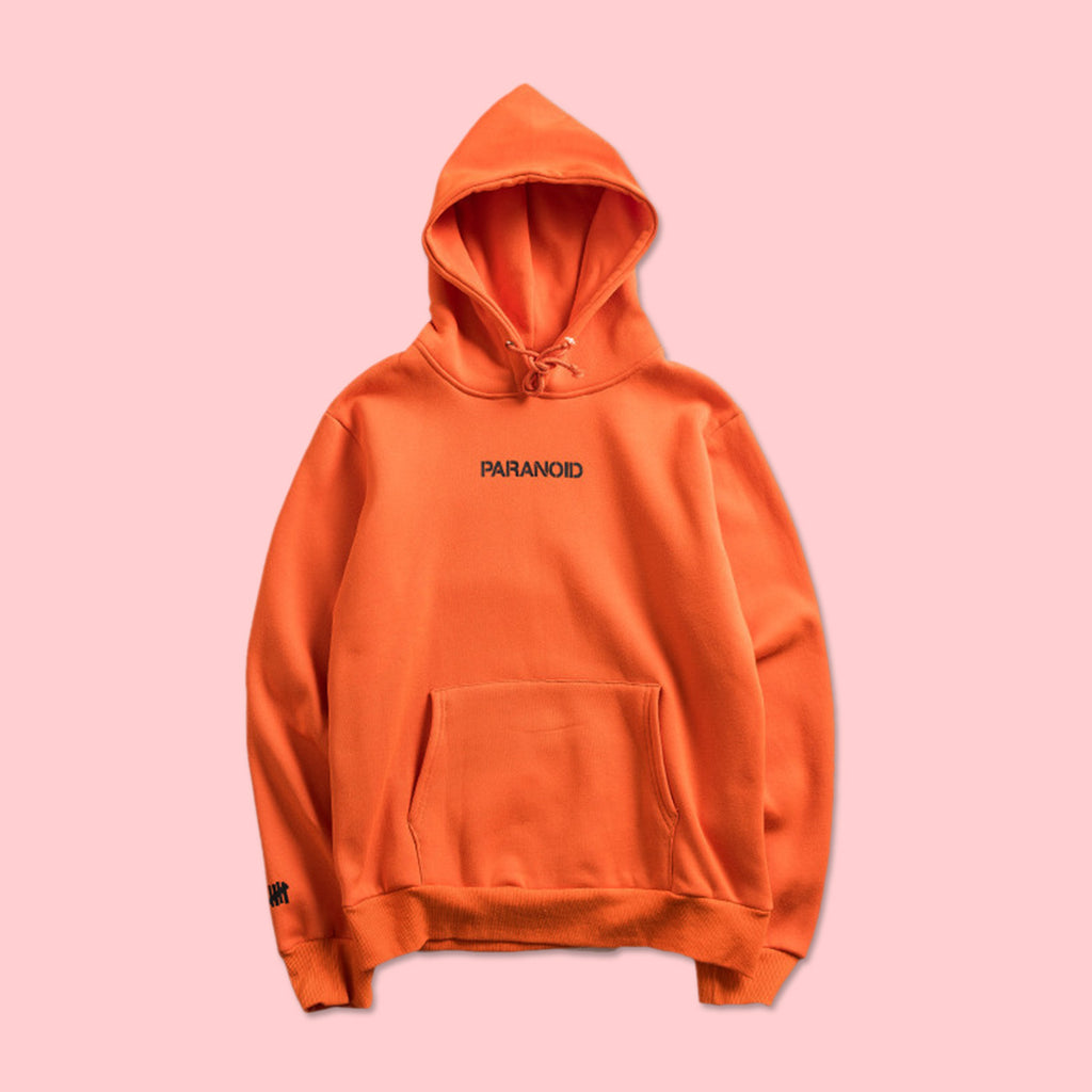 ebfaa4d895b4 ... ANTI SOCIAL SOCIAL CLUB x UNDEFEATED PARANOID HOODIE ORANGE (LIMITED  STOCK) ...