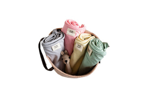 Organic Swaddle & Cot Sheet Bundle