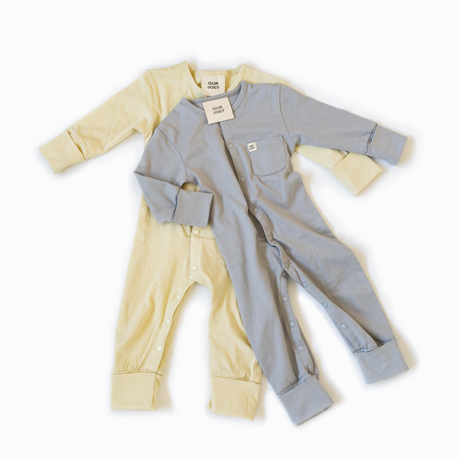 Organic Full-Length Onesie Bundle