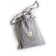Load image into Gallery viewer, Organic Drawstring Bag