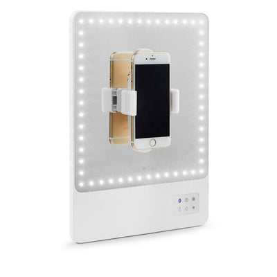LIGHTED VANITY MIRROR WITH SELFIE FUNCTION