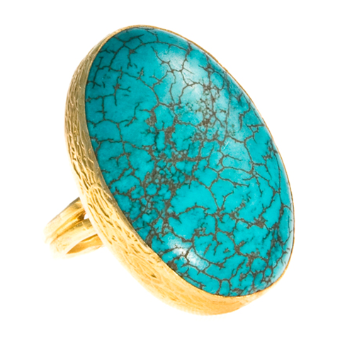 Sexy Single Turquoise Ring