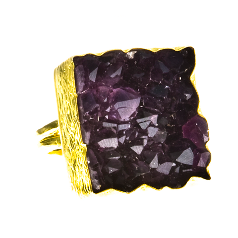 Sexy Single Amethyst Ring