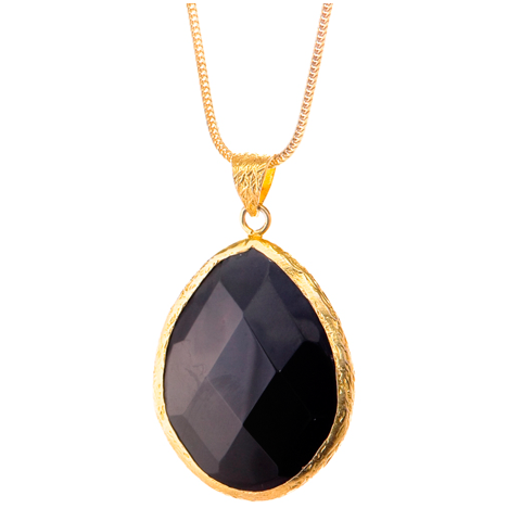Single Tier Onyx Pendant