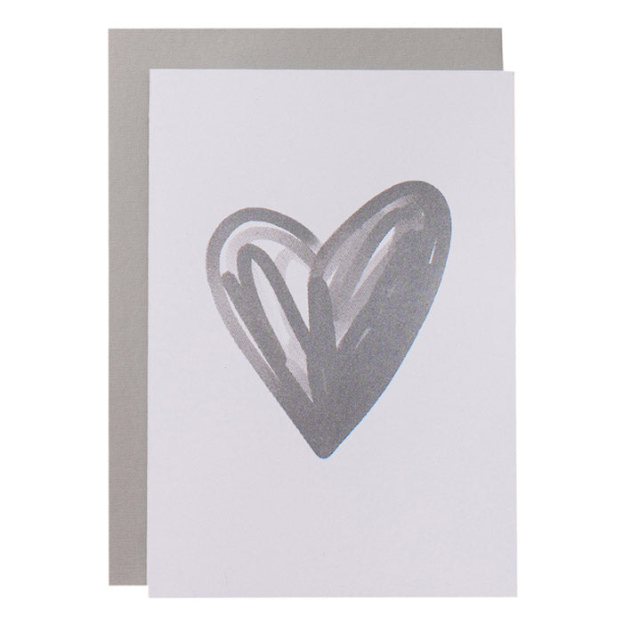 BIG CARD - HEART - various colours